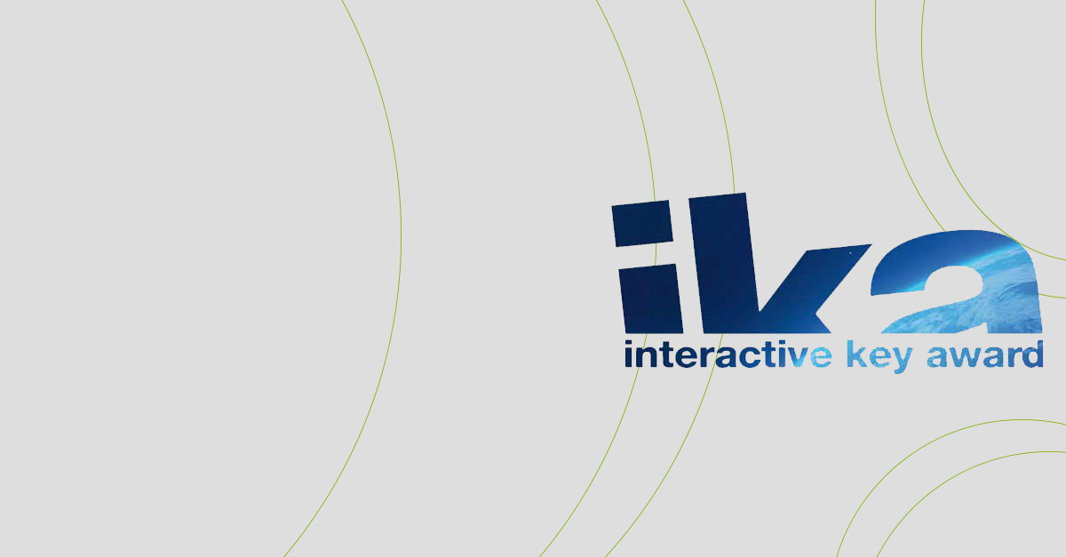 """Interactive Key Award"": special prize ""Innovation Award"" per il nuovo sito Webank.it"