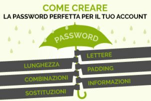 Come creare la password perfetta per il tuo account